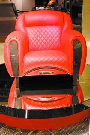 兰博基尼限量版跑车椅-高端家具拒绝平庸 貌不惊人死不休的家居
