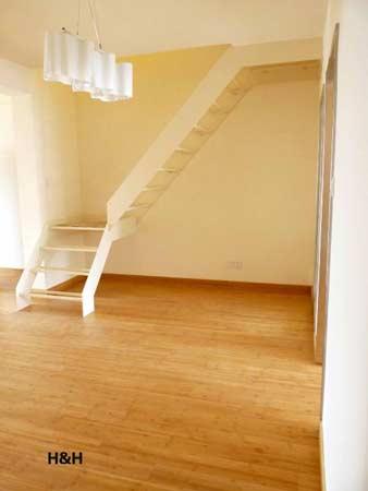 2室1厅装修成简约韩风跃层小复式