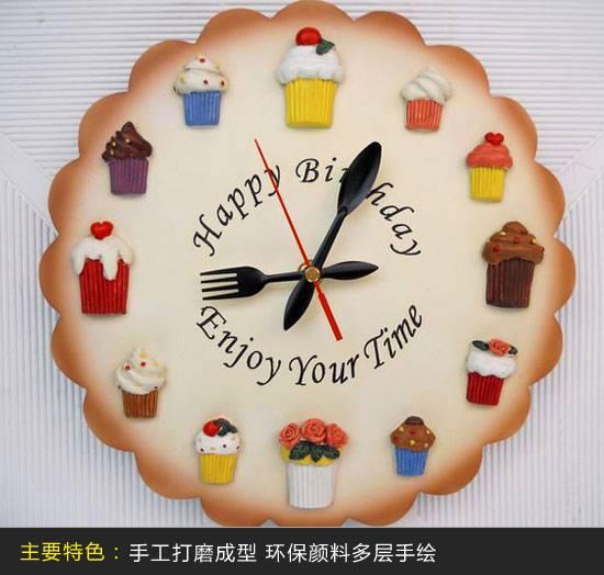 造型可爱的时钟设计