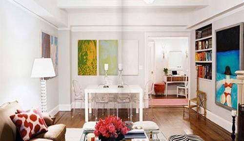 小户型客厅装修效果图大全2013图片 白领的最爱
