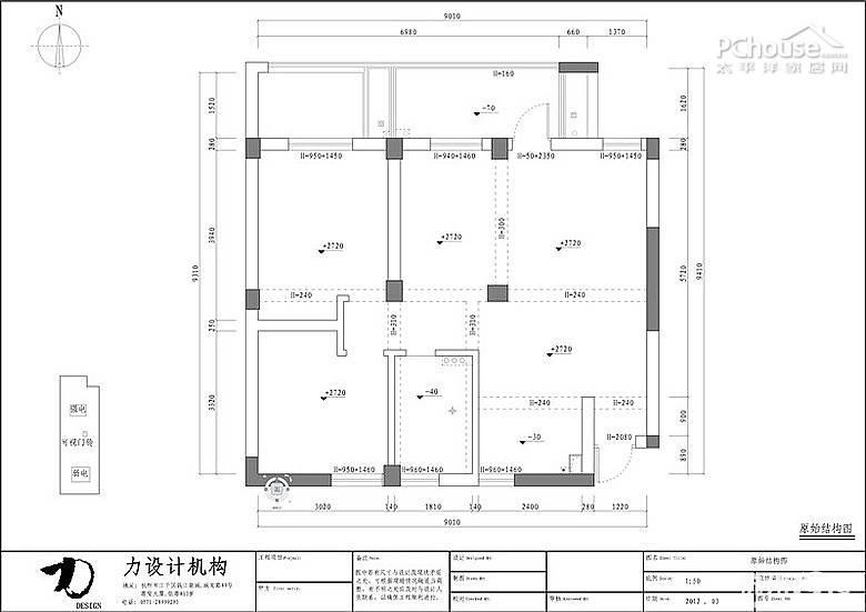 89/75平米 格局       三房两厅一卫 装修费用       15万 设计