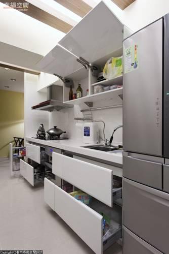 厨房立体图简单手绘