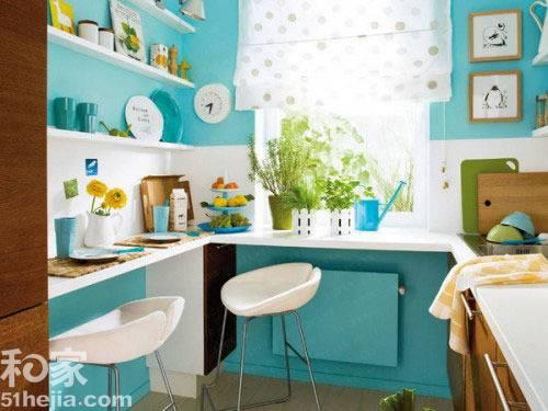 小户型装修空间法则 11个简约小厨房设计