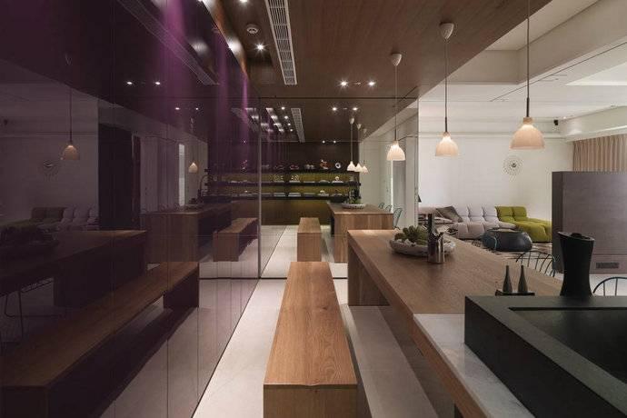 135平方米现代三居室客厅装修效果图 高清图片