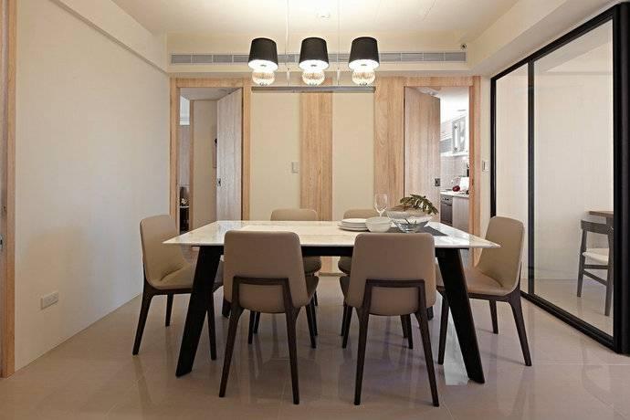 99平方米简约三居室客厅装修效果图 高清图片